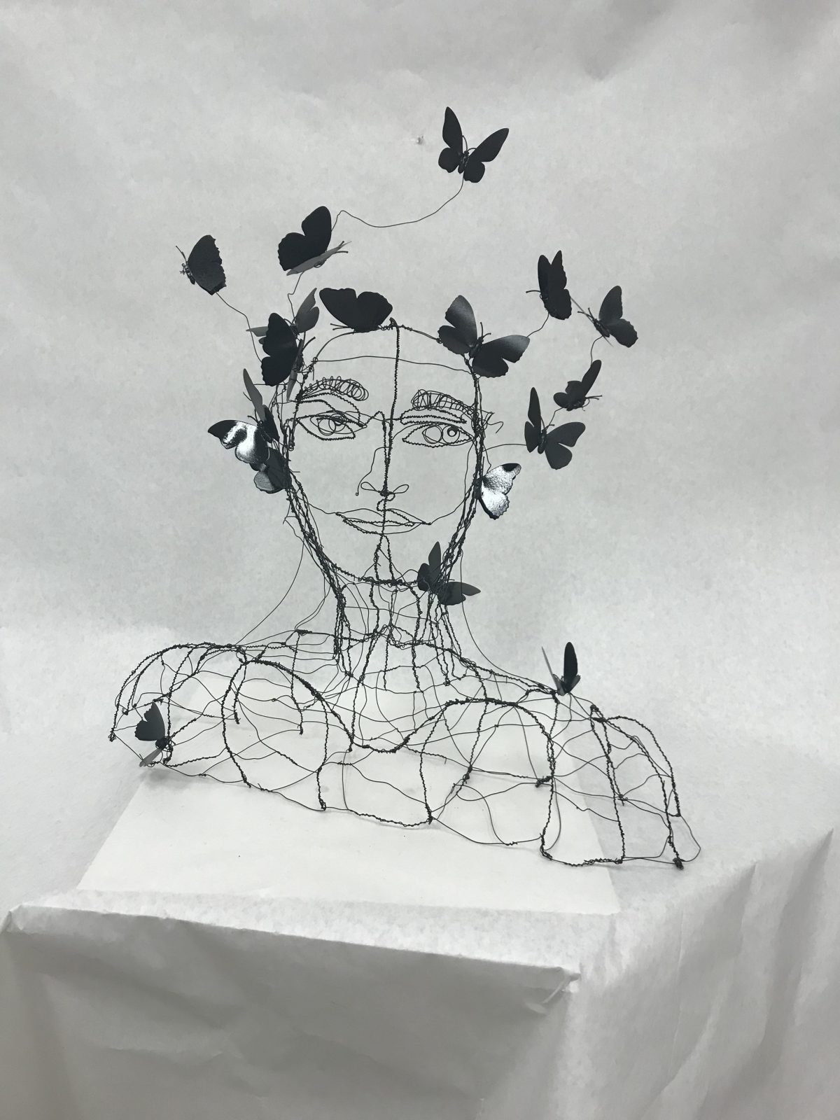 Line Project Design – Self Portrait