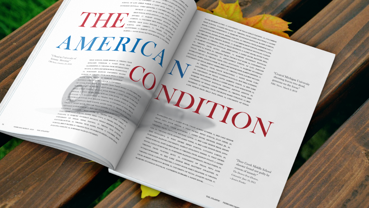 The American Condition Editorial Spread