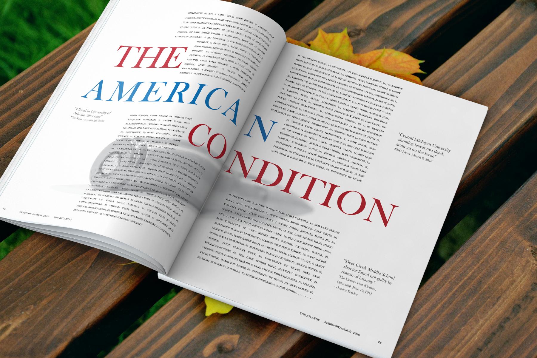 The American Condition Editorial Spread