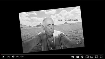 YouTube Content: Lee Friedlander Inspiration